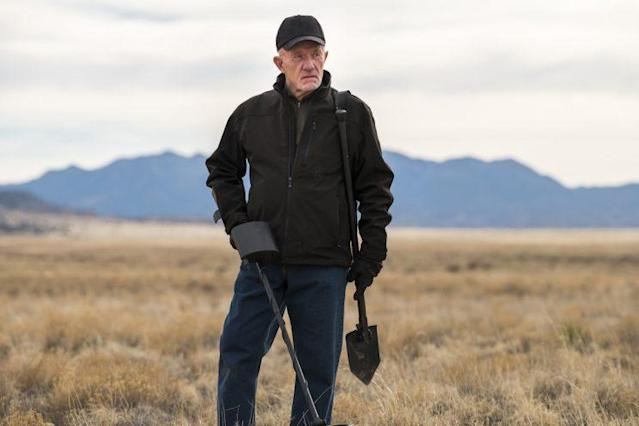 Jonathan Banks as Mike Ehrmantraut in AMC's 'Better Call Saul' (Credit: Michele K. Short/AMC/Sony Pictures Television)
