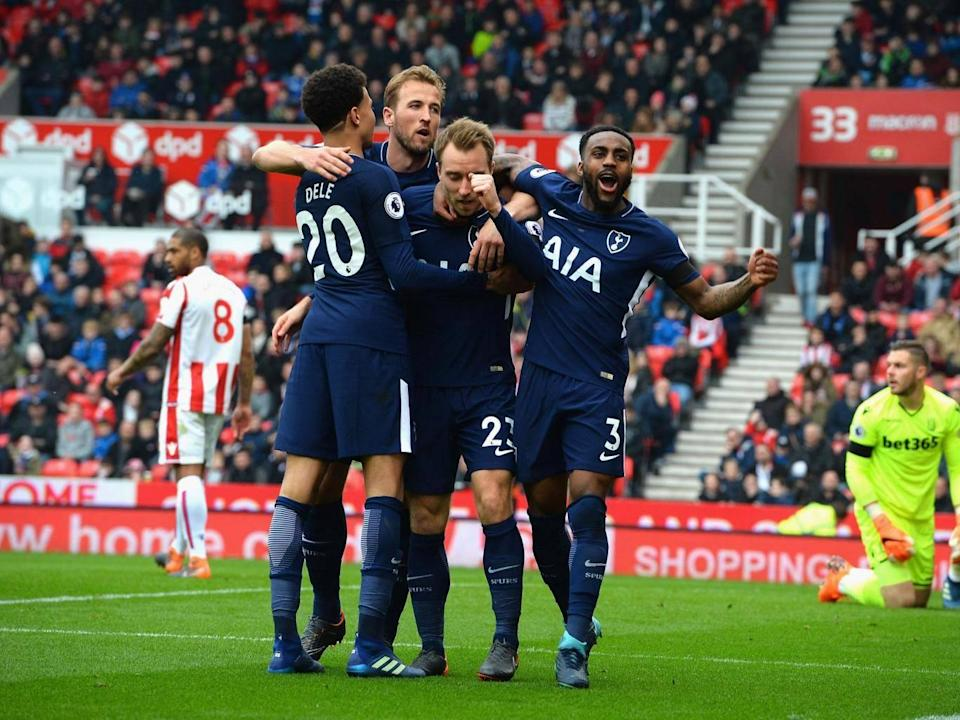 Spurs held on to beat Stoke (Getty)