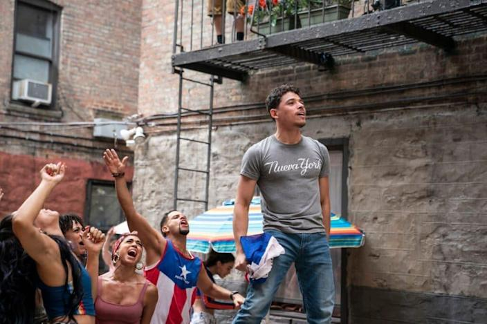 Anthony Ramos in 'In the Heights' (Warner Bros. Pictures)