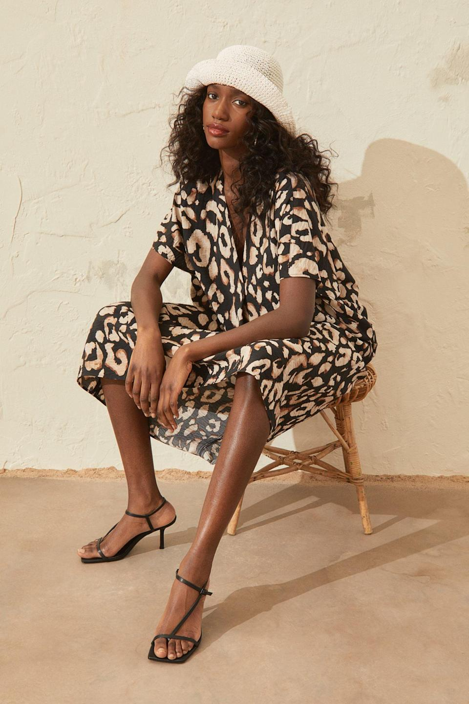 <p>This <span>V-neck Kaftan Dress</span> ($35) is an easygoing and breathable option you'll turn to on warm summer days.</p>