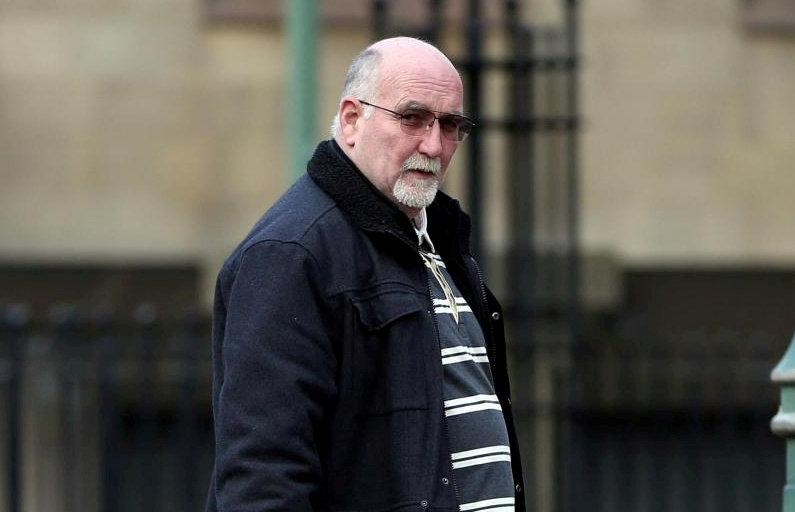 Colin Nesbitt outside Bradford Crown Court. (SWNS)