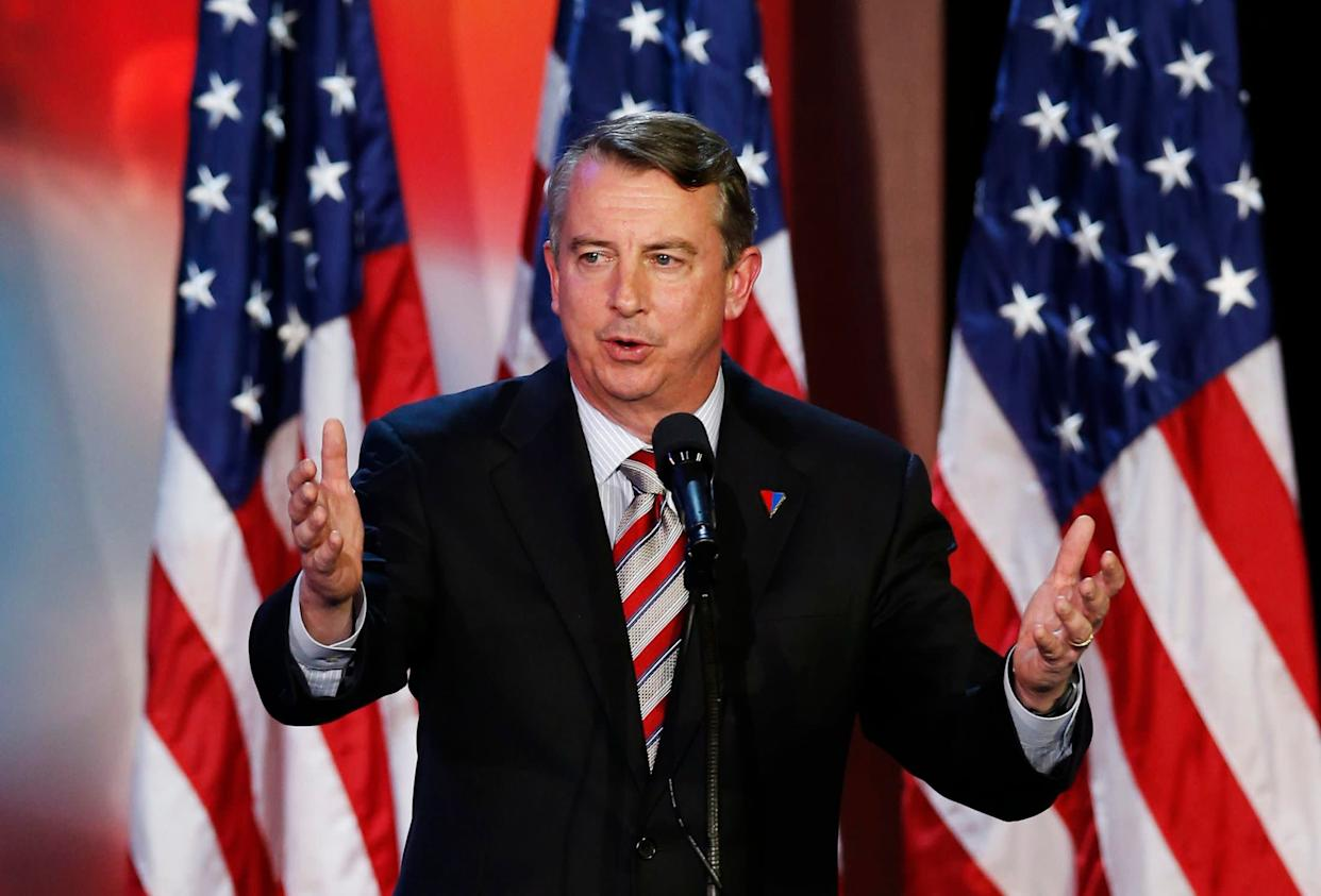Republican Ed Gillespie initially said he opposed the Graham-Cassidy bill, but walked it back shortly after the debate on Tuesday night. (Photo: Mike Segar / Reuters)