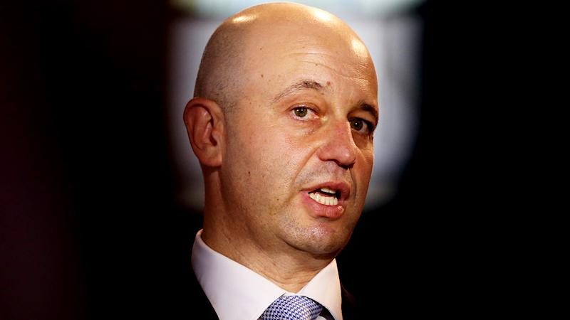 Todd Greenberg, pictured at the launch of the 2020 NRL Magic Round, is frustrated by repeated off-field scandals involving players.