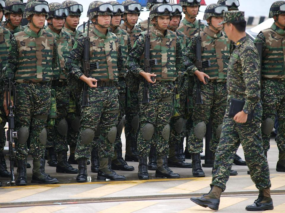 <p>The Ministry of National Defense has announced that conscripts will be assigned to field military units after completing basic training, as in 2018. (Illustrative photo courtesy of Shutterstock)</p>