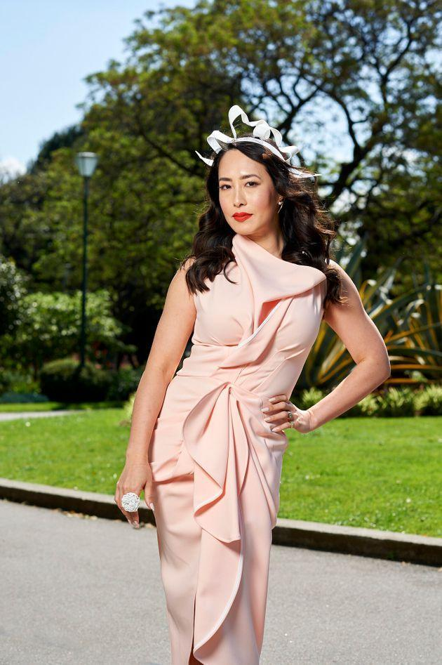 'MasterChef Australia' judge Melissa Leong poses for Lexus after being announced as the luxury car brand's new ambassador ahead of the Melbourne Cup carnival