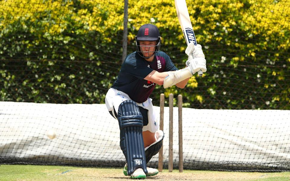 James Bracey bats during an England Lions training session at Allan Border Field on January 27, 2020 —County Championship 2021 predictions and your club-by-club guide - Chris Hyde/GETTY IMAGES