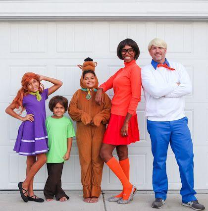 """<p>Jinkies! Looks like blogger <a href=""""http://www.prettyrealblog.com/p/about-me.html"""" rel=""""nofollow noopener"""" target=""""_blank"""" data-ylk=""""slk:Tiffany DeLangie"""" class=""""link rapid-noclick-resp"""">Tiffany DeLangie</a> has solved the mystery of the perfect easy-to-make group Halloween costume. </p><p><strong>Get the tutorial at <a href=""""http://www.prettyrealblog.com/2020/10/a-fun-scooby-doo-family-costume-and-how.html"""" rel=""""nofollow noopener"""" target=""""_blank"""" data-ylk=""""slk:Pretty Real"""" class=""""link rapid-noclick-resp"""">Pretty Real</a>.</strong></p><p><a class=""""link rapid-noclick-resp"""" href=""""https://www.amazon.com/Mysocks-Unisex-Socks-Plain-Orange/dp/B01LWQGJPU/ref=sr_1_1_sspa?dchild=1&tag=syn-yahoo-20&ascsubtag=%5Bartid%7C10050.g.32906192%5Bsrc%7Cyahoo-us"""" rel=""""nofollow noopener"""" target=""""_blank"""" data-ylk=""""slk:Shop Orange Knee Socks"""">Shop Orange Knee Socks</a></p>"""