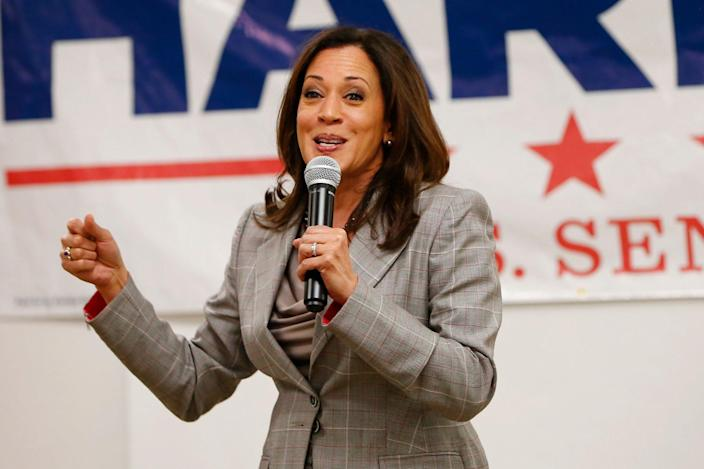<p>In 2016, Harris became the second Black woman and first South Asian American to be elected to the Senate.</p>
