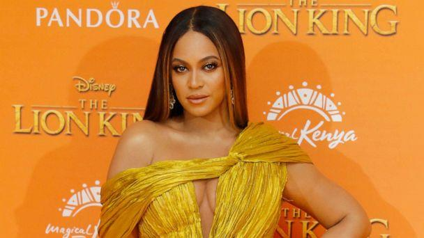 PHOTO: Beyonce Knowles-Carter attends the European Premiere of 'The Lion King' at Odeon Luxe Leicester Square on July 14, 2019 in London, England. (David M. Benett/WireImage/Getty Images)