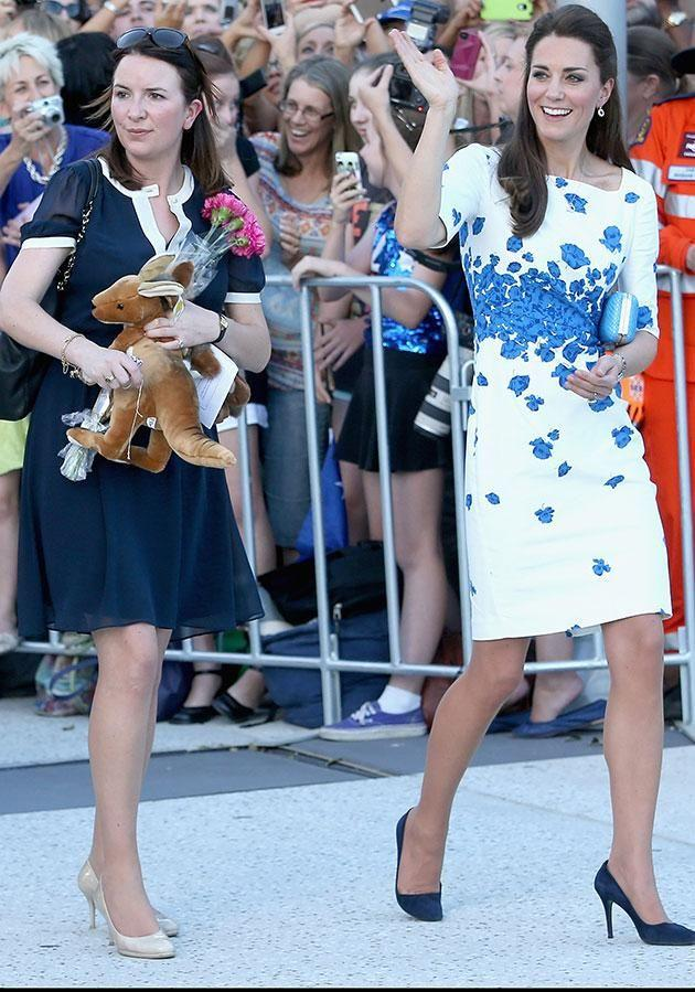 Rebecca has been at Kate's side since 2012. Photo: Getty Images