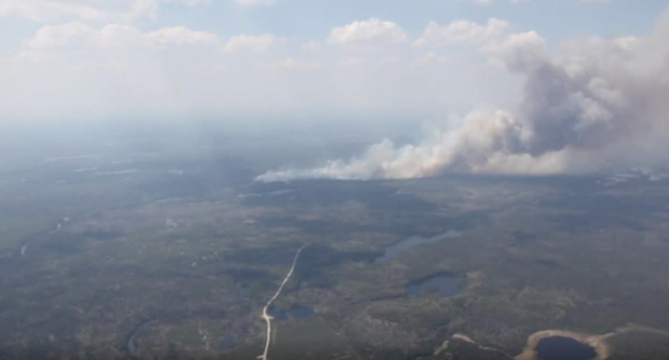 The 2012 Timmins 9 Wildfire was so widespread it took 6 months to extinguish