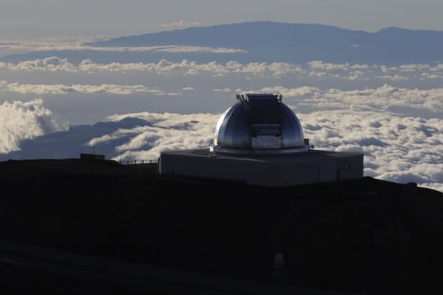 A telescope at the summit of Hawaii's Mauna Kea