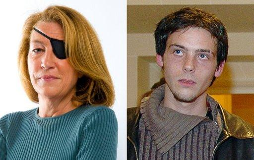 Marie Colvin (left) and Remi Ochlik were both killed in Syria in February 22, 2012
