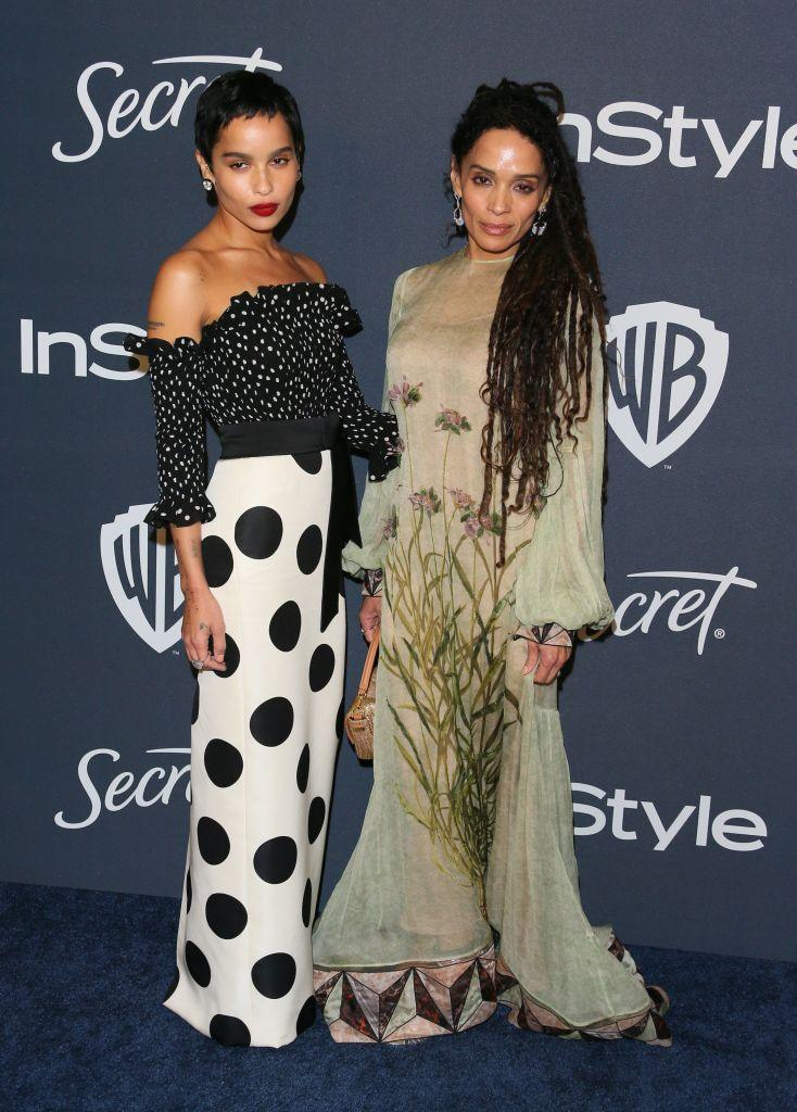 One of the most beautiful mother/daughter duos to ever grace a red carpet. <em>(Image via Getty Images)</em>