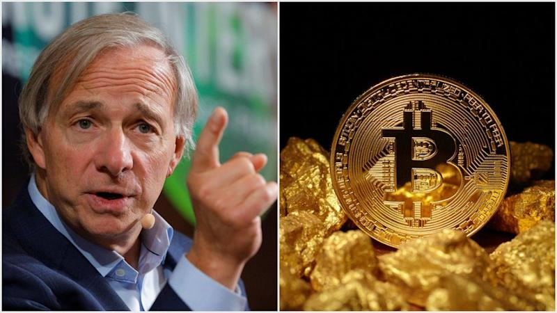 Billionaire hedge fund ace Ray Dalio preferes gold over bitcoin in a