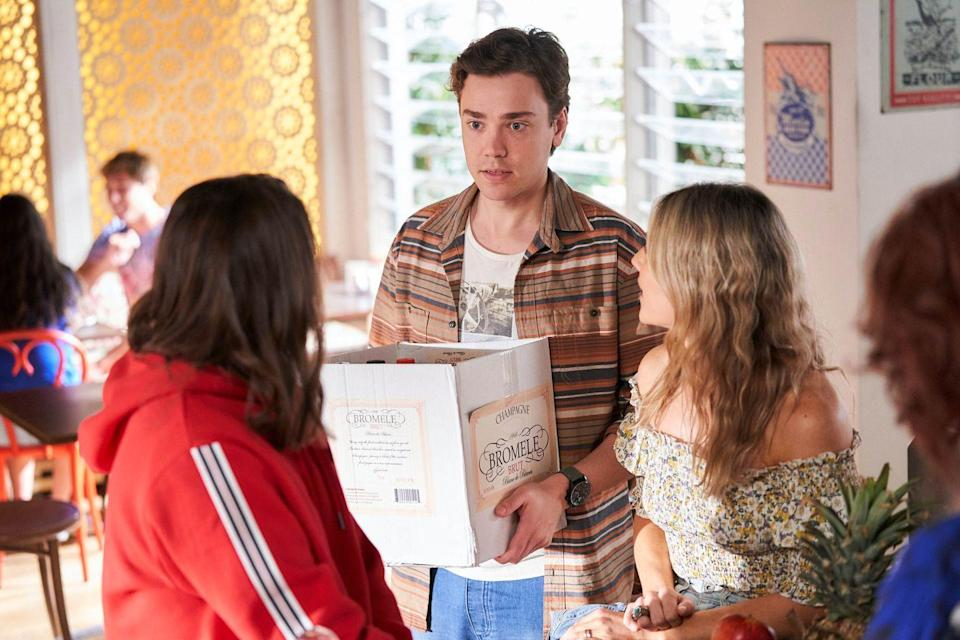<p>He explains that Colby now knows about her plans to leave, despite her best efforts to keep him in the dark.</p>