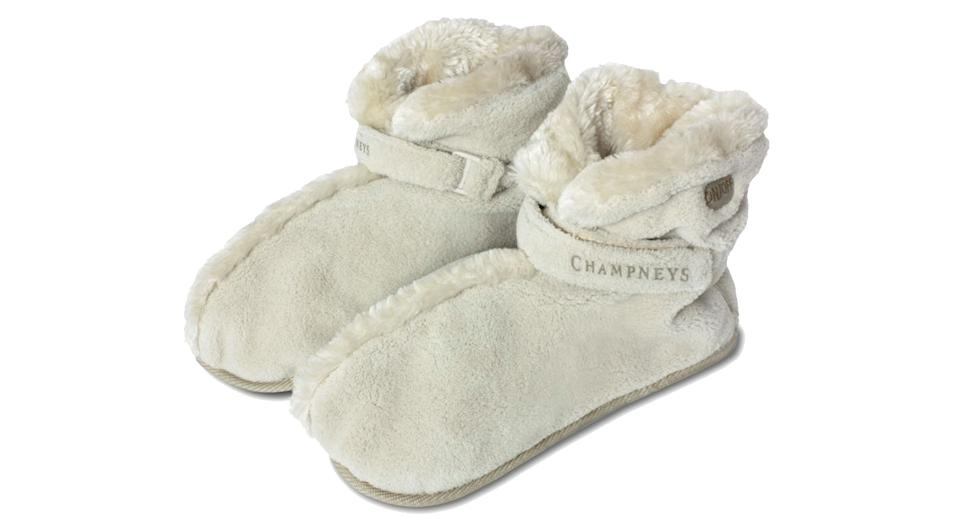 Champneys luxury massage slippers
