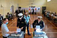 The run-up to the parliamentary polls has been marred by an unprecedented crackdown on Kremlin critics and independent media (AFP/Pavel KOROLYOV)