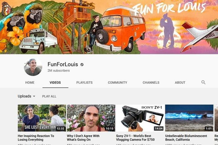 For for Louis YouTube Channel screenshot