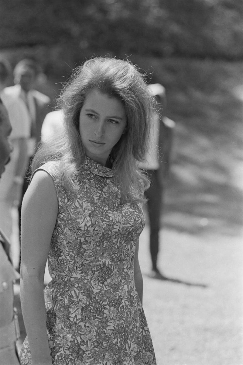 Princess Anne in 1971 (Getty Images)