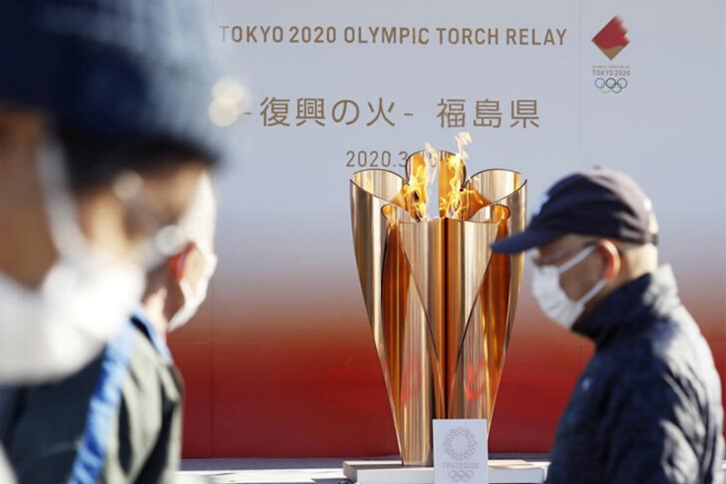 Japan Ends Olympic Flame Display After PM Shinzo Abe Declares State of Emergency Due to Coronavirus