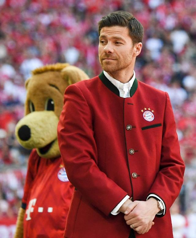 Xabi Alonso believes Liverpool can topple Real Madrid if they get the right balance between excitement and motivation (AFP Photo/Christof STACHE)