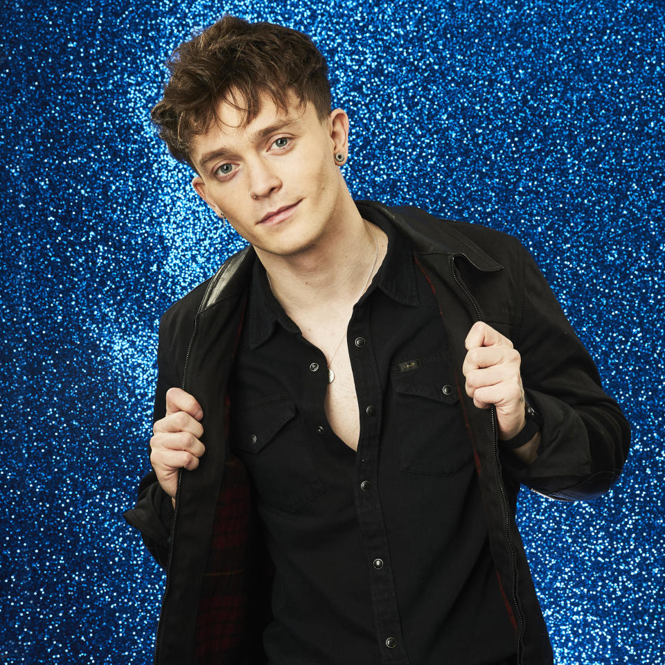 From Lifted Entertainment  Dancing on Ice: SR14 on ITV and ITV Hub  Pictured: Connor Ball.  This photograph is (C) ITV Plc and can only be reproduced for editorial purposes directly in connection with the programme or event mentioned above, or ITV plc. Once made available by ITV plc Picture Desk, this photograph can be reproduced once only up until the transmission [TX] date and no reproduction fee will be charged. Any subsequent usage may incur a fee. This photograph must not be manipulated [excluding basic cropping] in a manner which alters the visual appearance of the person photographed deemed detrimental or inappropriate by ITV plc Picture Desk.  This photograph must not be syndicated to any other company, publication or website, or permanently archived, without the express written permission of ITV Picture Desk. Full Terms and conditions are available on the website www.itv.com/presscentre/itvpictures/terms  For further information please contact: james.hilder@itv.com / 0207 157 3052