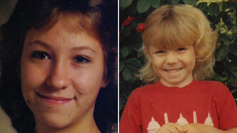 Nancy Mueller (Left) and her 8-year-old daughter, Sarah Powell (Right).