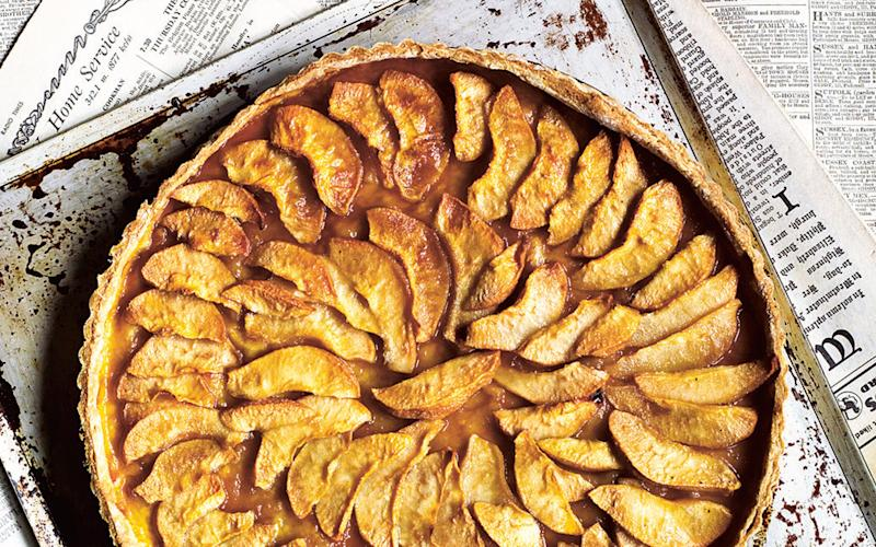 Pear tart - Credit: Andrew Montomgery