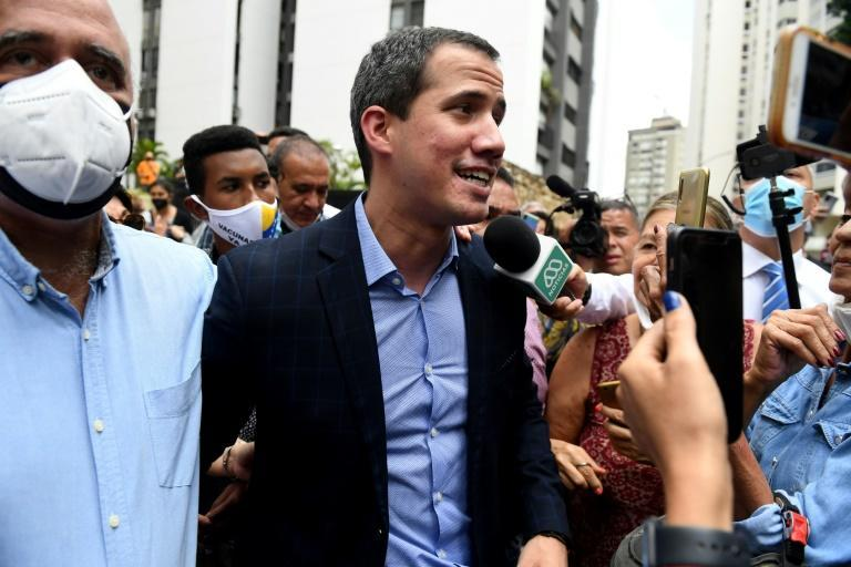 Opposition leader Juan Guaido, who has been recognized as Venezuela's legitimate president by the United States and dozens of other countries after a disputed election