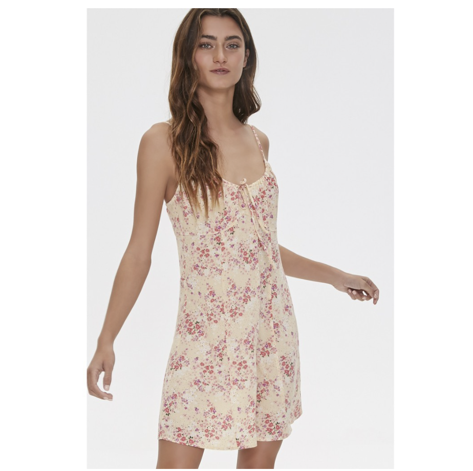 Forever 21 Floral Print Dress. (PHOTO: Shopee Philippines)