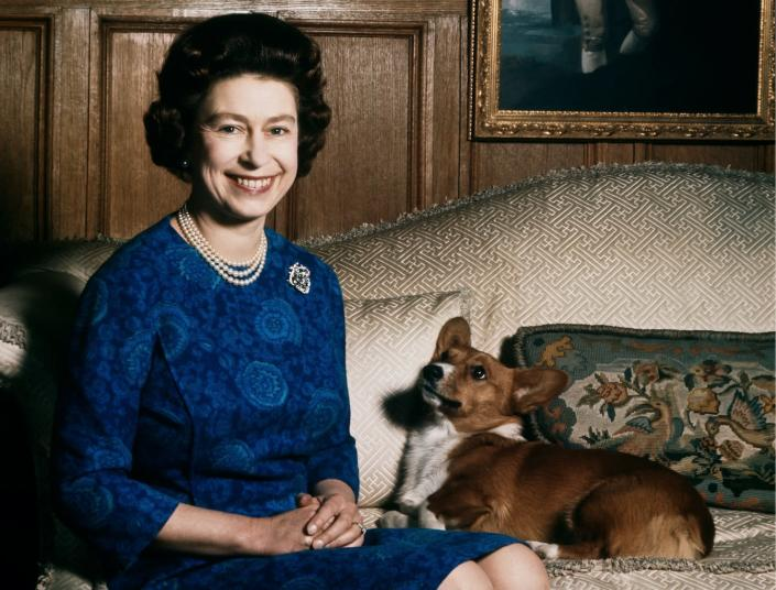 Nooooo! One of Queen Elizabeth's corgis passed away and we are so sad for her