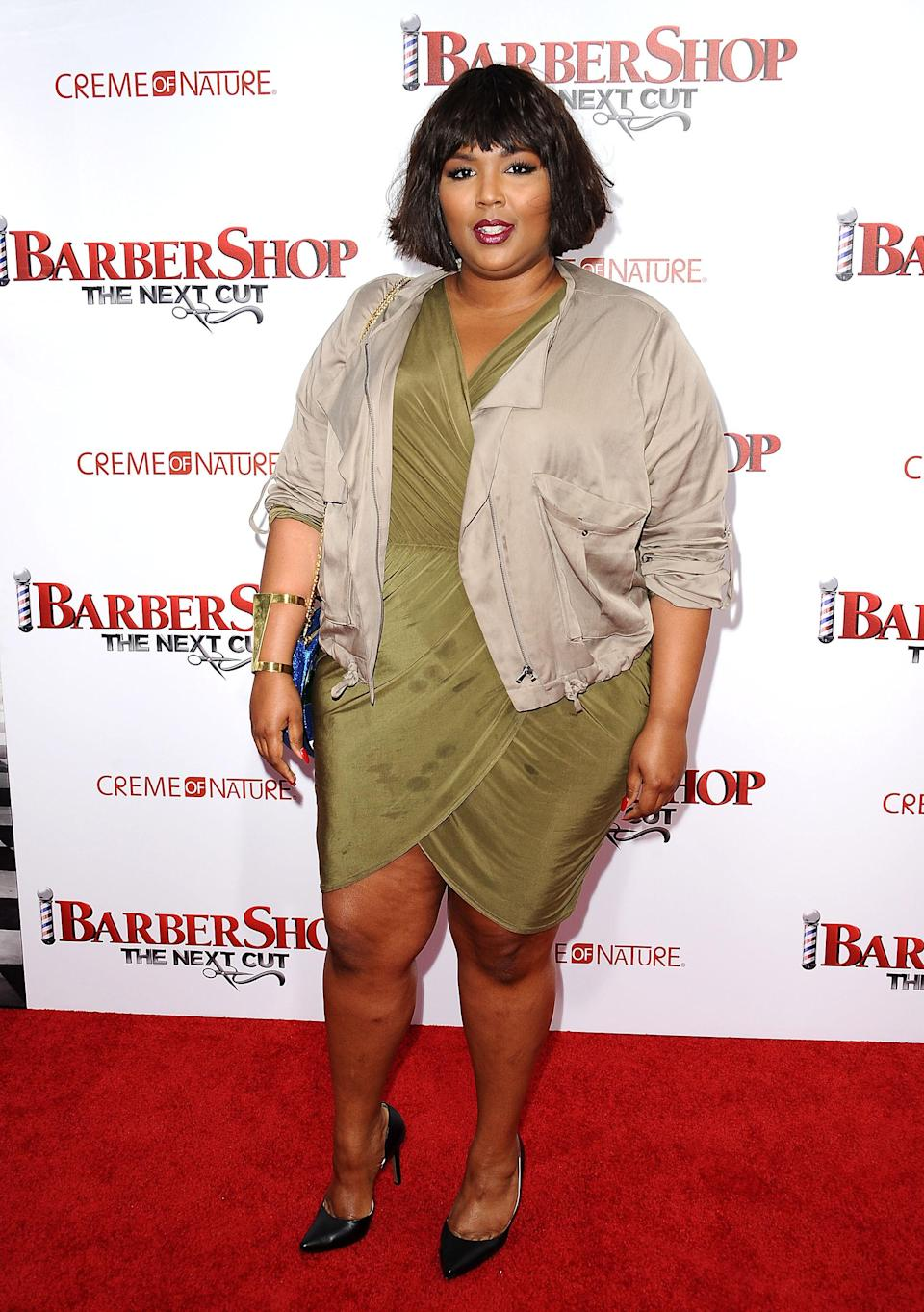 Before she favored floor-length wigs, Lizzo also dabbled with bobs.