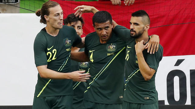 Former Australia international Jacob Burns believes facing France early at the World Cup could suit the Socceroos.