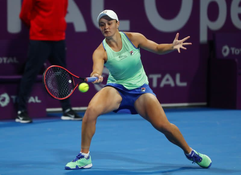 Tennis: Beer-drinking Barty to stay world number one