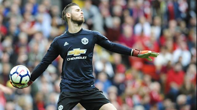 David de Gea's save after a shot from Joel Matip was among few highlights in the 0-0 Anfield draw.