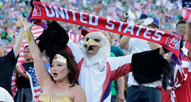 America and its soccer fans could be getting the World Cup, just not their own. (AP Photo/Jae C. Hong)