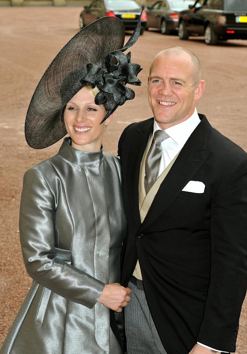 Mike and Zara Tindall (Getty Images)