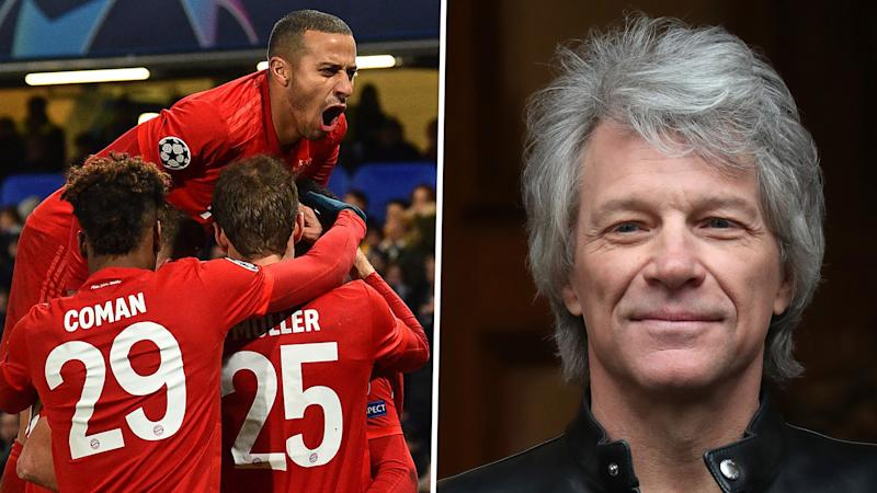 Bayern's win at Chelsea fuelled by whisky and beer, claims Bon Jovi