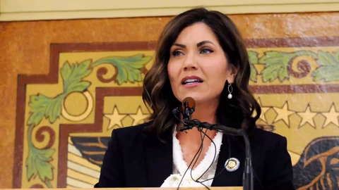 South Dakota Gov. Kristi Noem was disappointed with her state's D grade. She pointed to changes in state law that allow trafficking victims to expunge their records as minors.