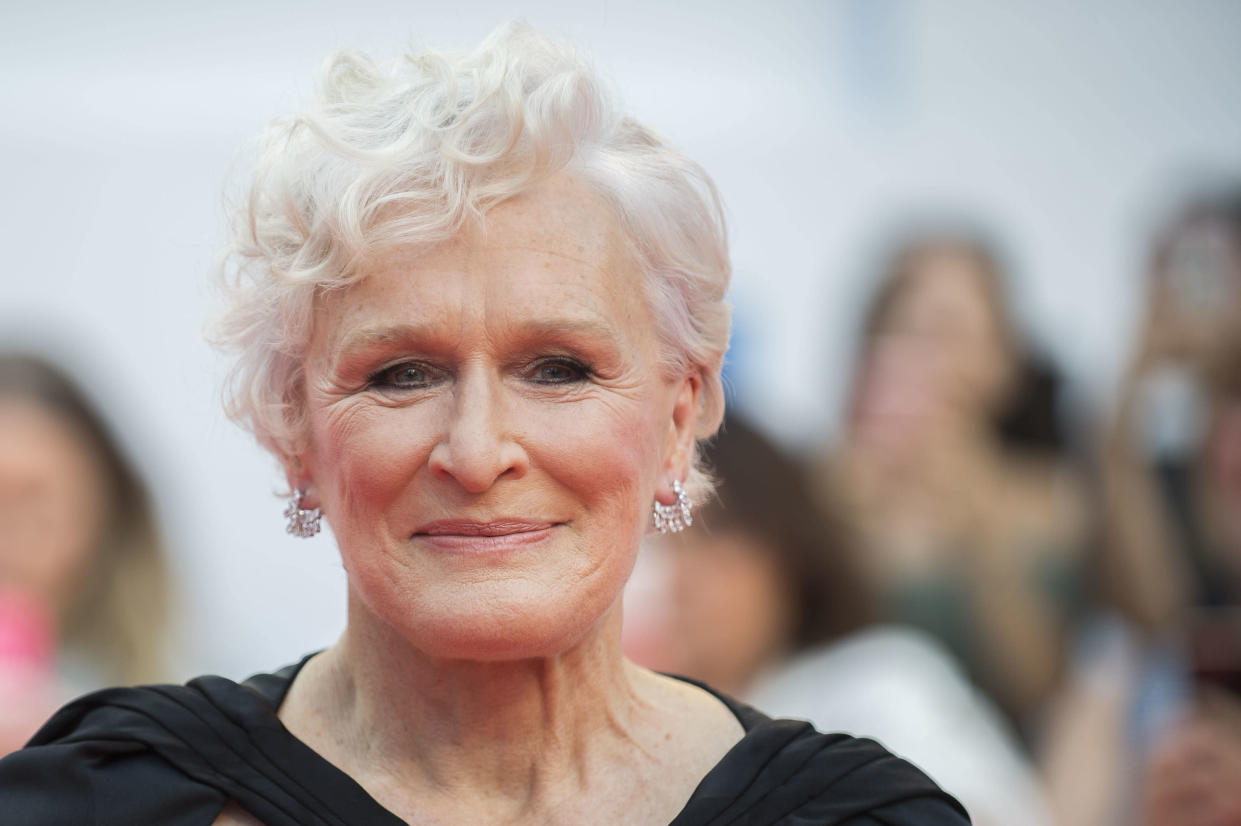 Actress Glenn Close attends the premiere for