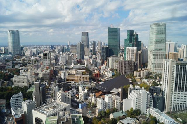<p>A view from Tokyo Tower. (Photo: Michael Walsh/Yahoo News) </p>