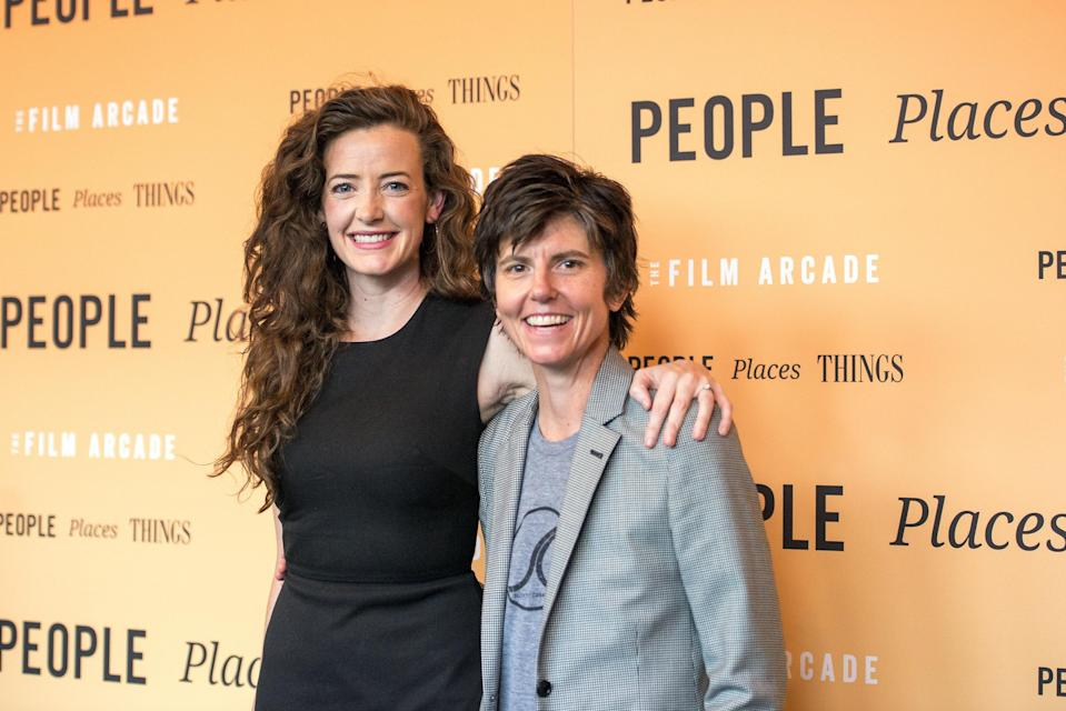 "Stand-up comedian Tig Notaro met her future wife, Stephanie Allynne, on the set of the comedy <em>In a World</em>, and it's been a dream romance ever since. ""We both talk about how we wake up every morning just thrilled,"" Allynne said in 2015 about their relationship. ""Problems seem like nothing because we don't focus on that stuff."""