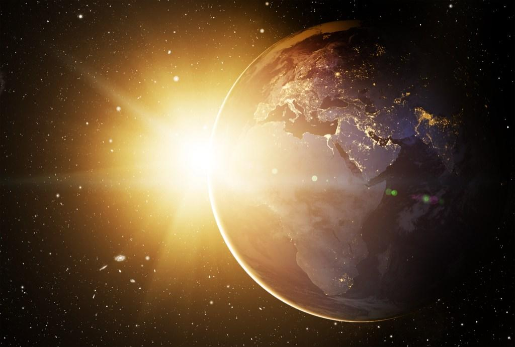 """Earth doesn't feel so enormous once you learn that the sun alone makes up somewhere between 99.8 and 99.9 percent of all the mass in the entire solar system, according to the experts at <a href=""""http://earthguide.ucsd.edu/virtualmuseum/ita/08_1.shtml"""" target=""""_blank"""">University of California, San Diego</a>. The rest is split between the planets and their satellites, as well as the comets, asteroids, dust, and gas. What's more, it would take one million copies of our home planet to fill up the space inside of the sun, according to <a href=""""http://curious.astro.cornell.edu/about-us/36-our-solar-system/the-earth/general-questions/2-how-many-earths-fit-into-the-sun"""" target=""""_blank"""">Cornell University</a>."""
