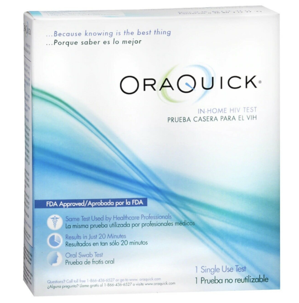 The Human Rights Campaign (HRC) Foundation is distributing HIV testing kits, which include an OraQuick oral swab condoms, lubricants and a test information card. (Credit: OraQuick)