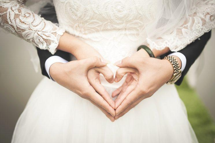 A new study has revealed getting married could have some benefits for your health [Photo: Pixabay via Pexels]
