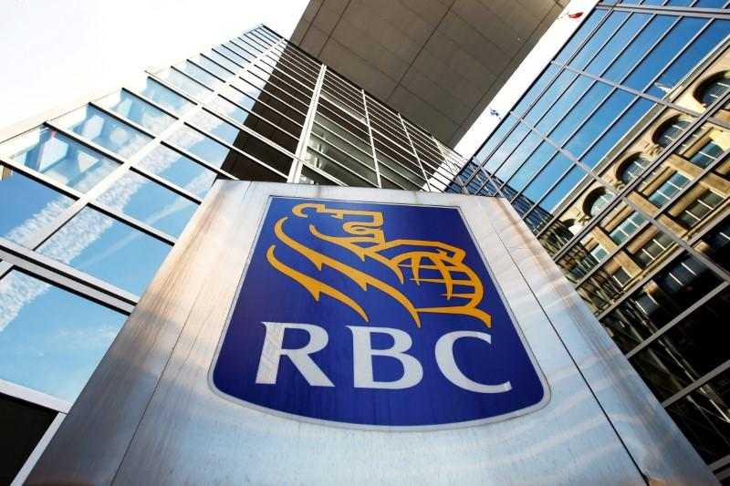 FILE PHOTO - A Royal Bank of Canada sign is seen outside of a branch in Ottawa