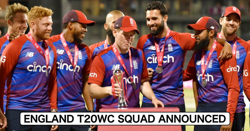 ICC T20 World Cup 2021: England Announce Their Squad For The Tournament