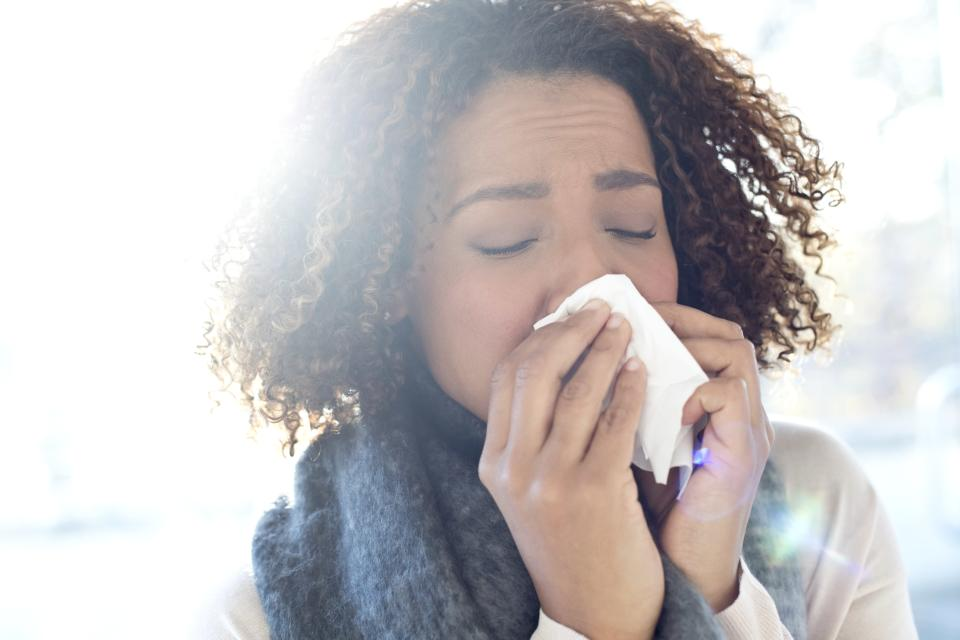 Is blowing your nose the answer? (Photo: Getty Images)