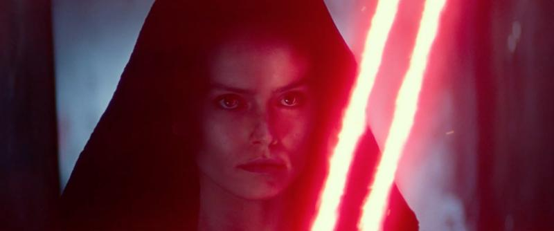 Daisy Ridley goes dark in Rise Of Skywalker (credit: Disney)